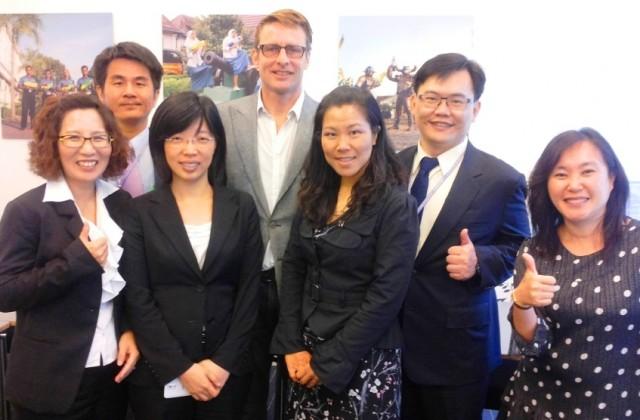 Taiwan Delegation june 2014